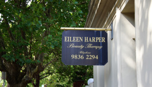 Eileen Harper Beauty Therapy Salon Signage